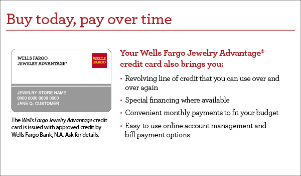 Wells Fargo Jewelry Advantage Credit Card